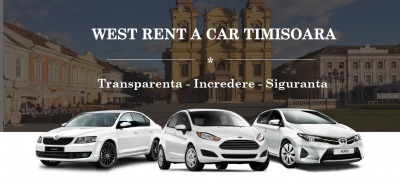 imagine: West Rent a Car inchirieri auto in Timisoara si Aeroport